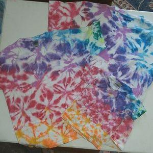 Tie Dye T-Shirts(3Fam Bundle)